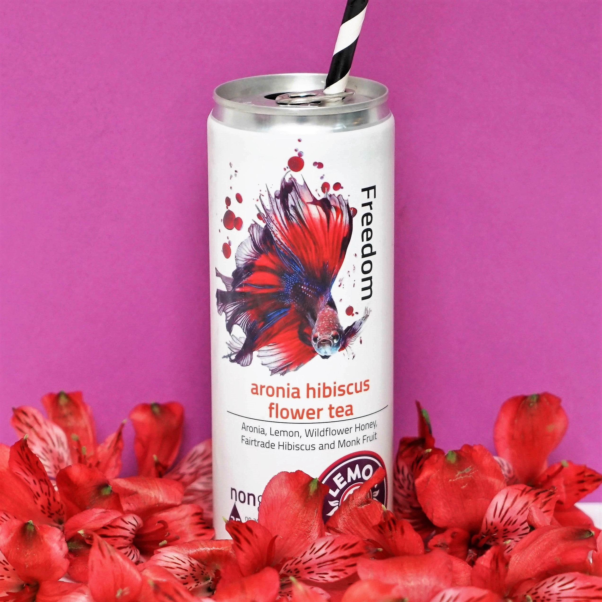 Freedom Tea With Aronia And Fair Trade Organic Hibiscus Flower
