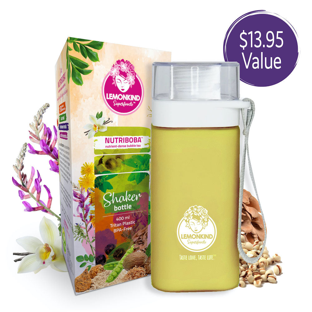 lemonkind nutriboba diy boba at home bubble tea starter kit glucomannan konjac weight loss organic turmeric golden milk maqui berry dandelion tea latte low calorie supplement promotes weight loss anti inflammatory adaptogenic mushrooms and superherbs