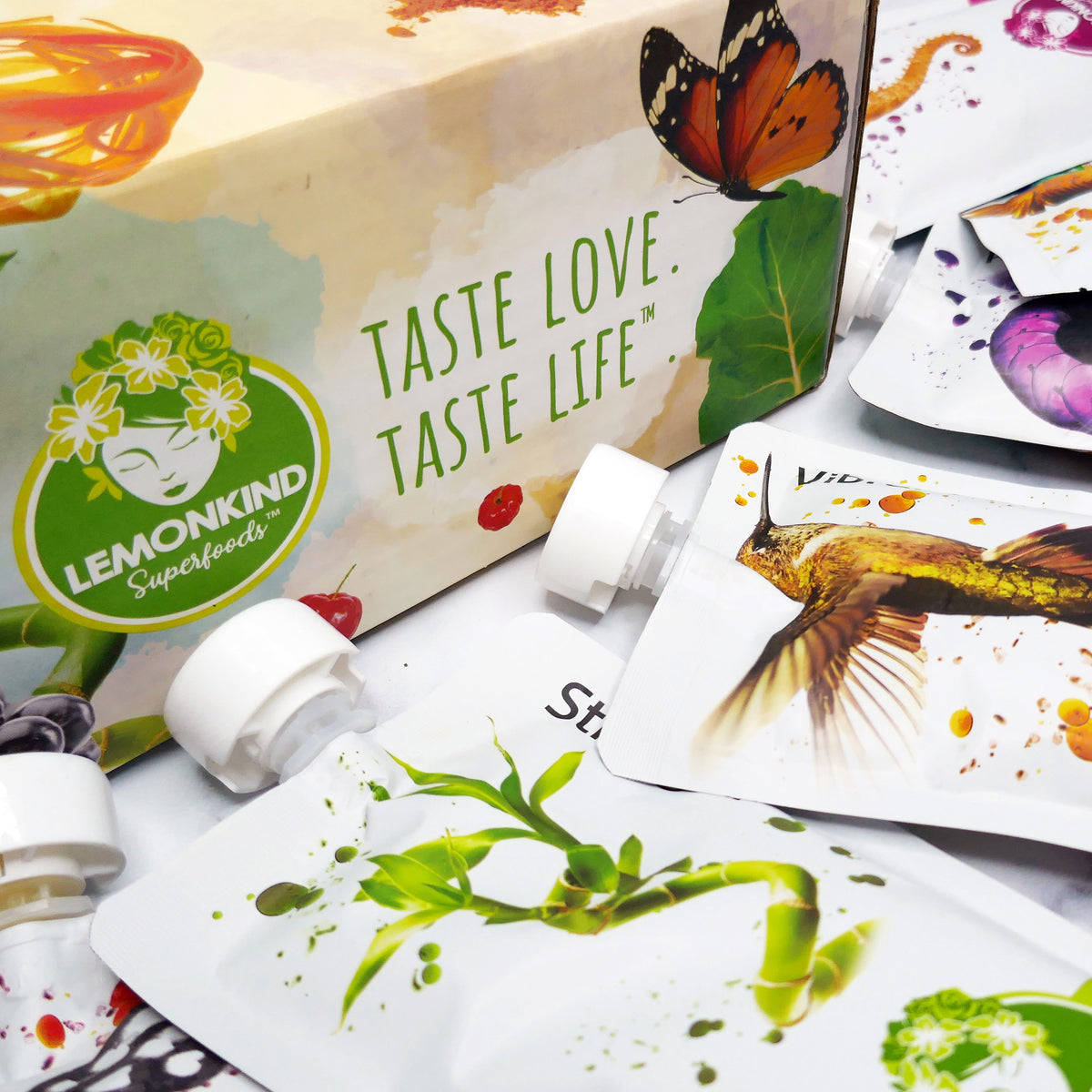 taste love taste life 3 day cleanse box with superfood juices detox gluten free non gmo vegan