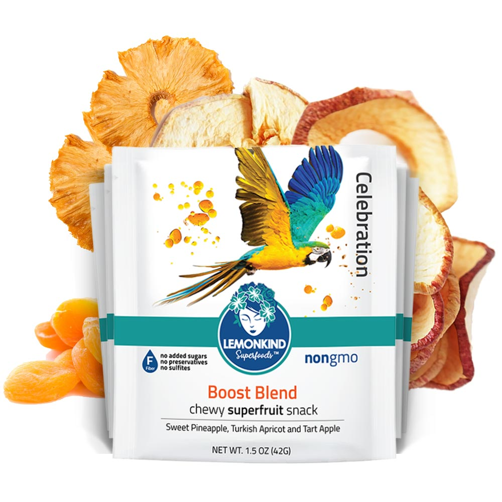 Boost Blend Chewy Dry Superfruit Snack (12 Pack)