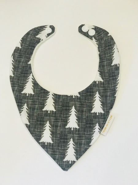 Scandi Tree Bib