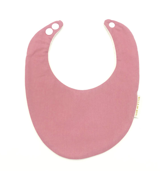Dusty pink Bib