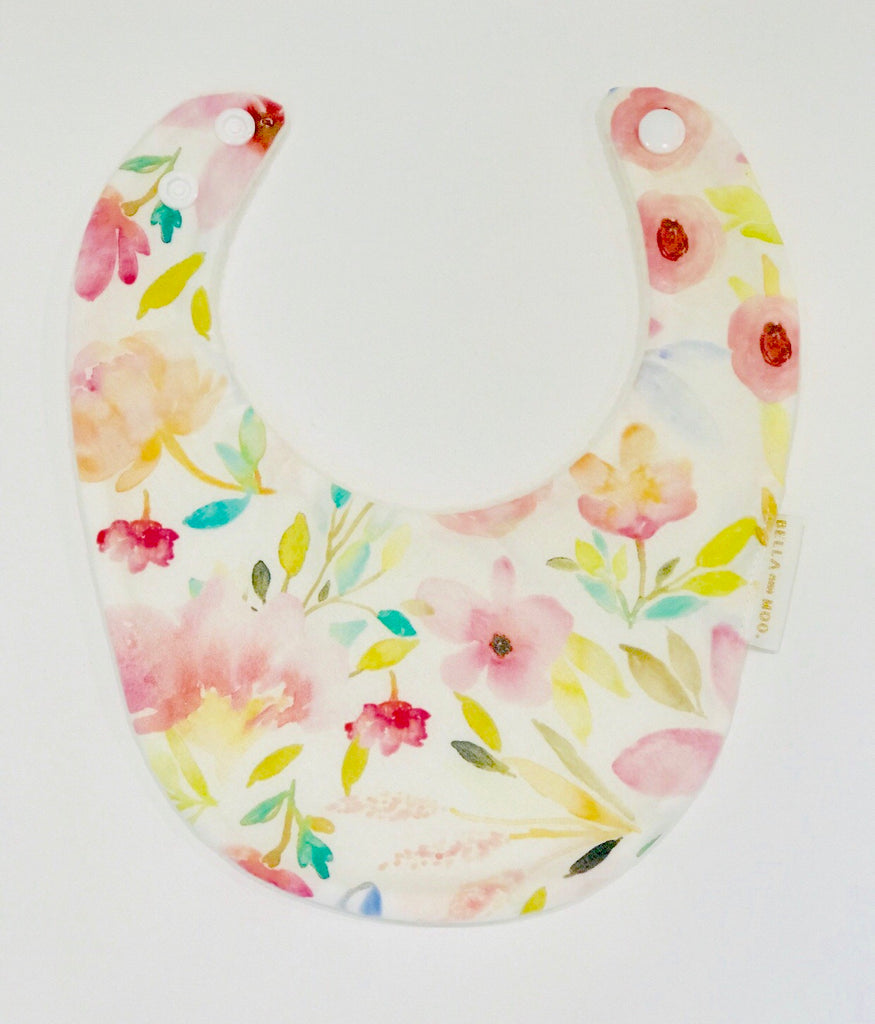 Mae Bib & Bow Headband set