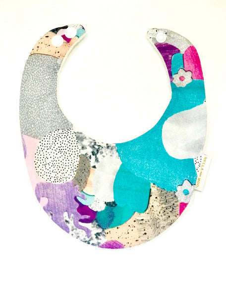 Watercolour Laura Blythman Colour Bib