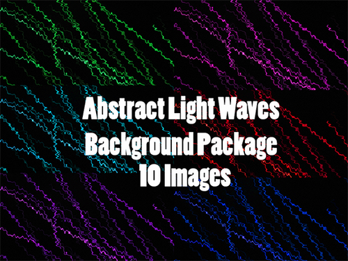 Abstract Light Streaks Background Package #1
