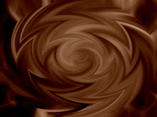 Abstract Fire Swirl Background Coffee