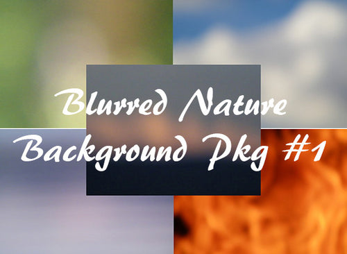 Blurred Nature Web Backgrounds Pack #1