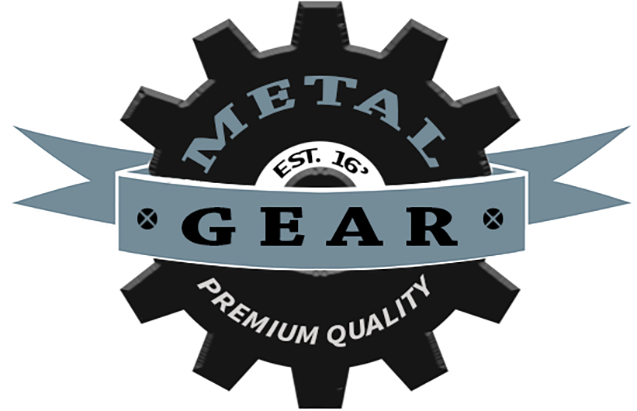 Metal Gear Logo PSD Template