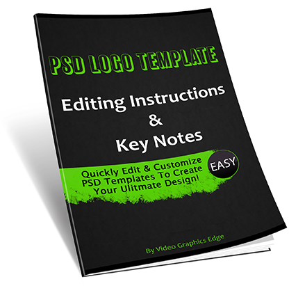 PSD Template Editing Customization Instructions & Key Notes