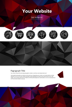 Poly Web Design Graphics