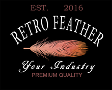 Feather PSD Logo Template