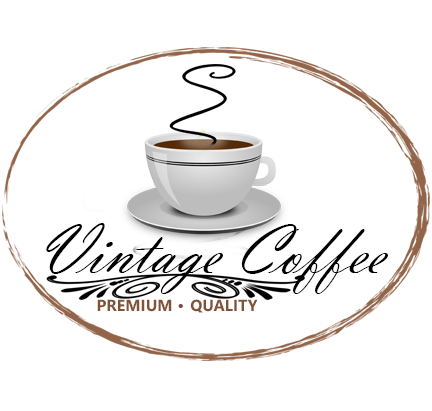 Vintage Coffee Shop Logo PSD Template