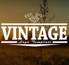 Vintage Logo Video Title Template
