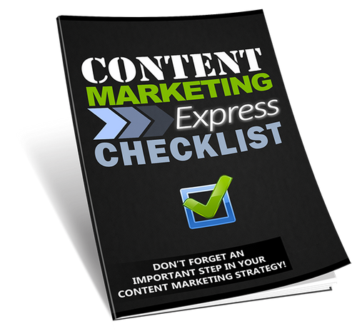 Content Marketing Express Checklist