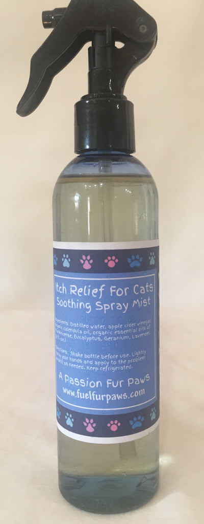 Itch Relief For Cats Soothing Spray Mist - 8 fl. oz.