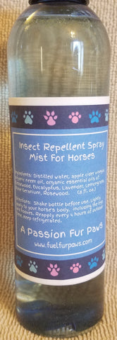 Insect Repellent Spray Mist For Horses