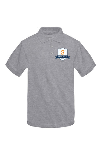 Kipp: Scholar Academy Gray Polo For 6th Grade