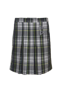 Green Plaid Skort