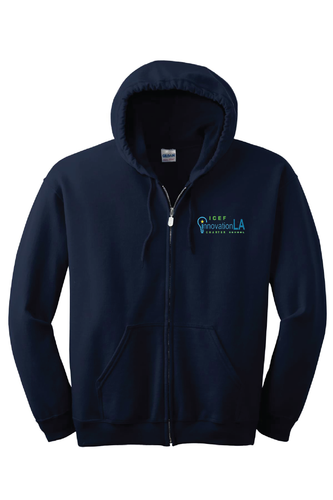 ICEF Innovation Zipper Hooded Sweater