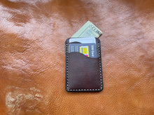 Load image into Gallery viewer, Handmade Full-Grain Leather Cardholder