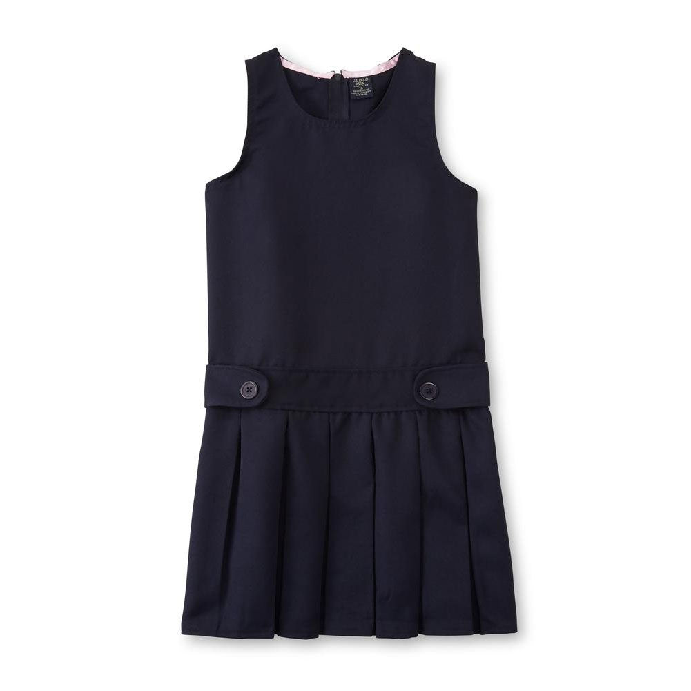 US Polo Assn. Girls Pleated Jumper