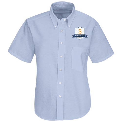 Kipp: Scholar Academy Light Blue Oxford For 8th Grade