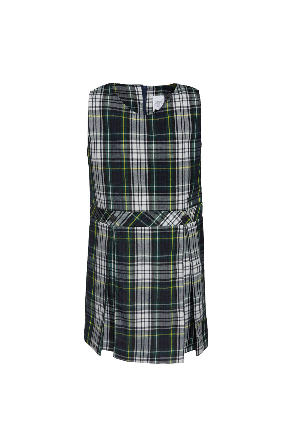 Girl Jumper Green Plaid