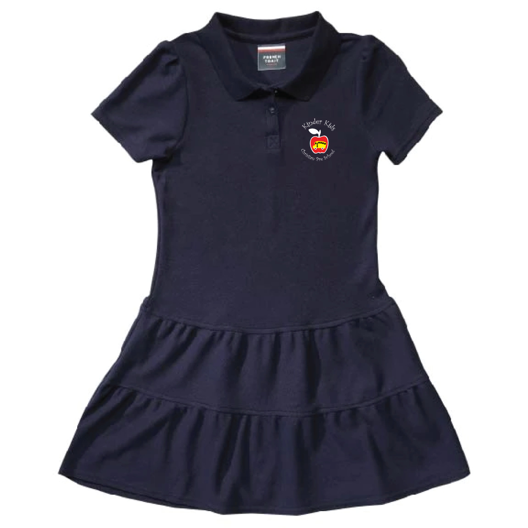 Kinder Kids Ruffle Polo Dress