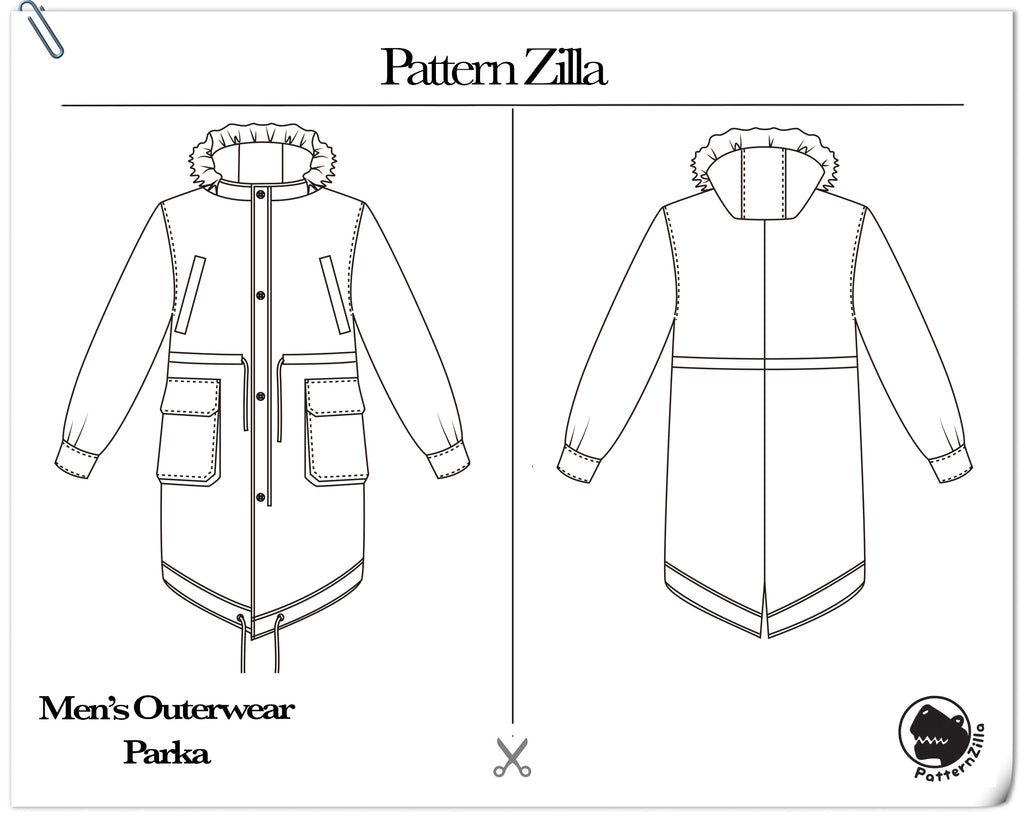 Men's Outerwear Parka