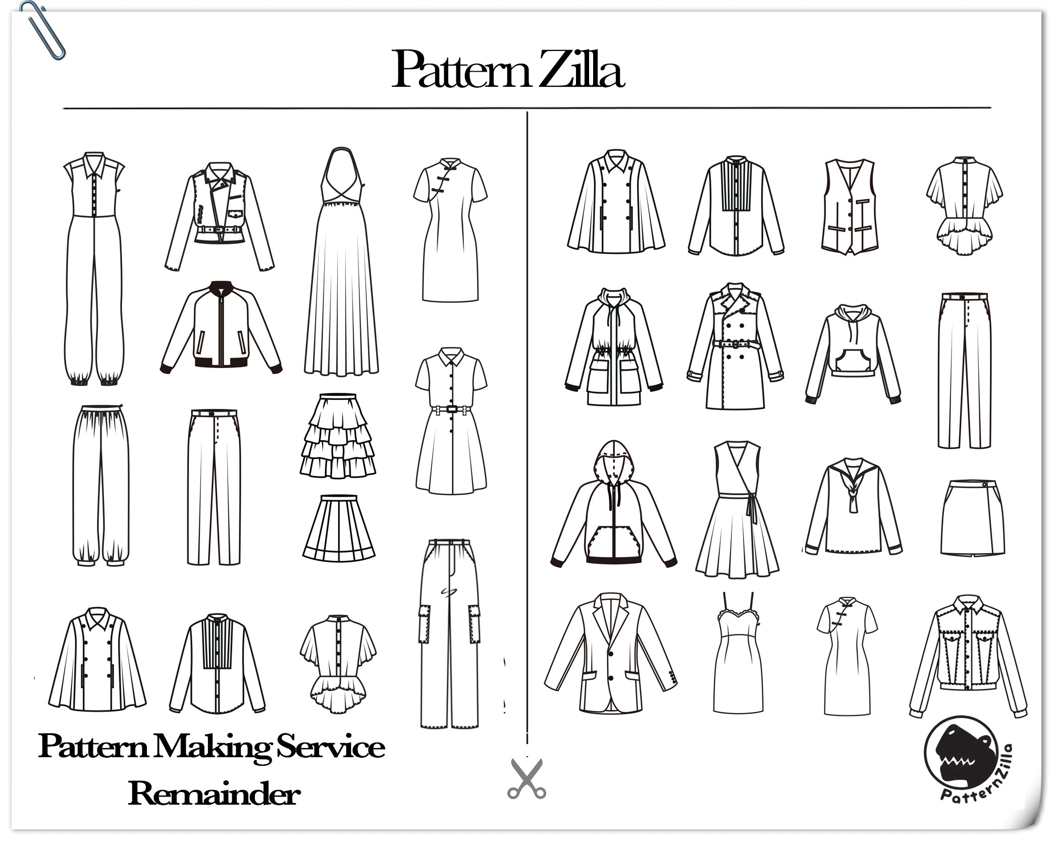 Pattern Making Service Remainder