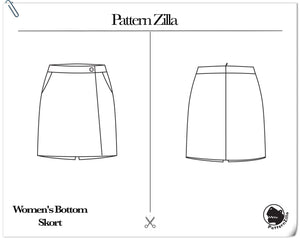 Women's Bottom Skort