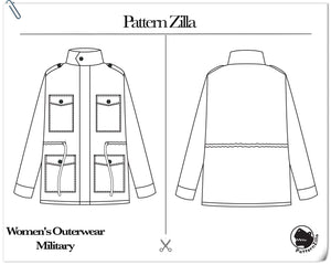 Women's Outerwear Military
