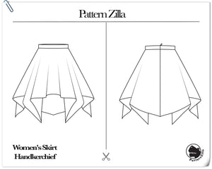 Women's Skirt Handkerchief