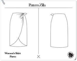 Women's Skirt Pareo Skirt