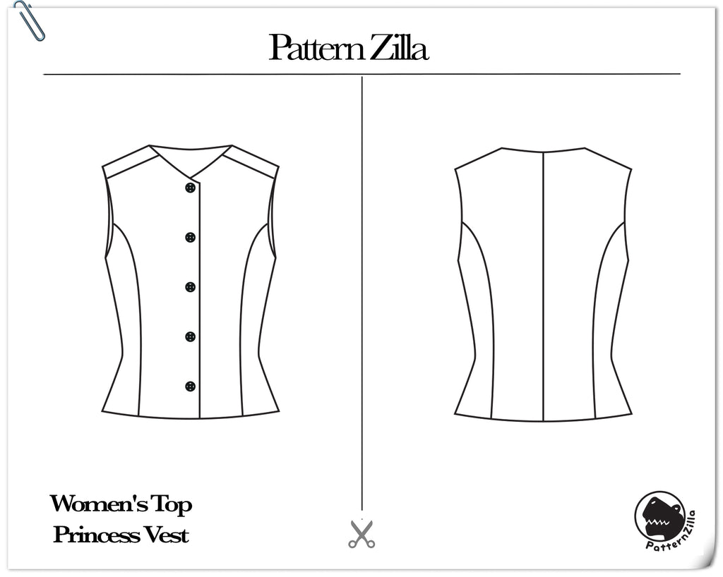Women's Top Princess Vest