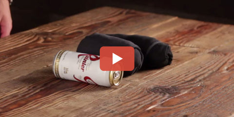 [WATCH] Burrito Rolling – More Space Means More Beer