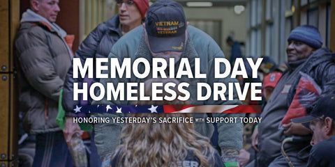 Memorial Day Homeless Vet Drive