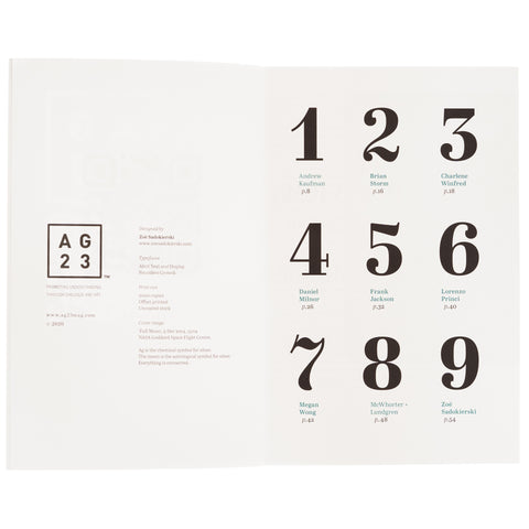 AG23 Issue 1: Elements
