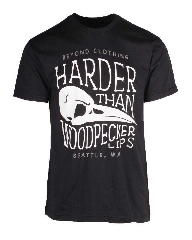 Harder Than Woodpecker Lips Men's Crew
