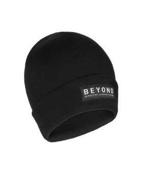 BEYOND Logo Merino Wool Watch Cap