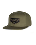 Vintage Patch Hat - Olive Green - Beyond Clothing USA