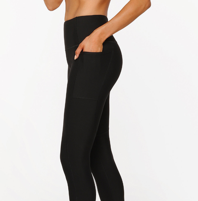Zip and Go Core Full Length Tight - Balance Everywear
