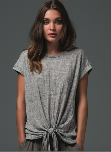 Bleeker Tie Top - Balance Everywear