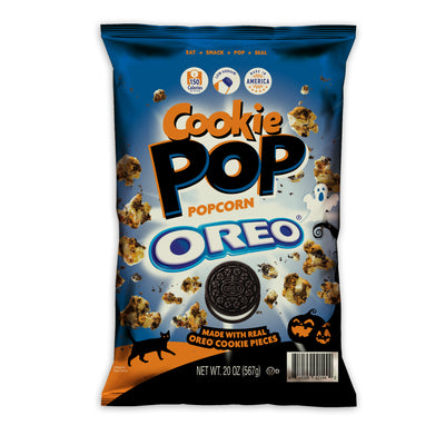 SNACK POP OFFICIALLY UNVEILS ITS SPECIAL EDITION HALLOWEEN COOKIE POP MADE WITH OREO® COOKIE PIECES!