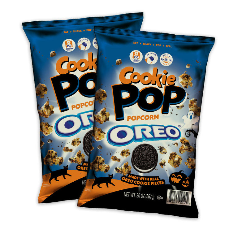 OREO Cookie Pop 20 oz Halloween Edition 2-Pack