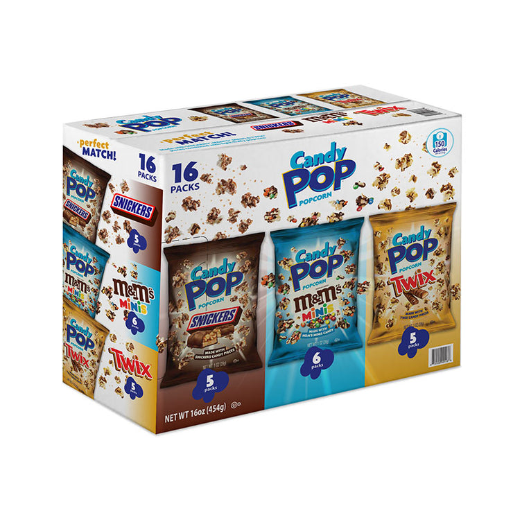 Candy Pop 16ct 1 oz Variety Pack