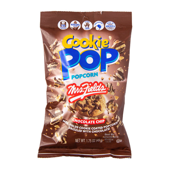 Chocolate Chip Cookie Pop 1.75 oz Snack Size 24 pk