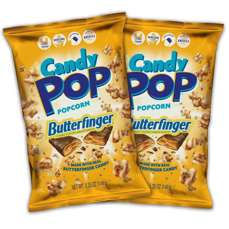 Butterfinger Candy Pop 5.25 oz Combo Pack