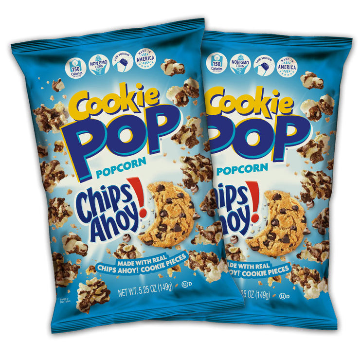 Chips Ahoy Cookie Pop 5.25 oz Combo Pack