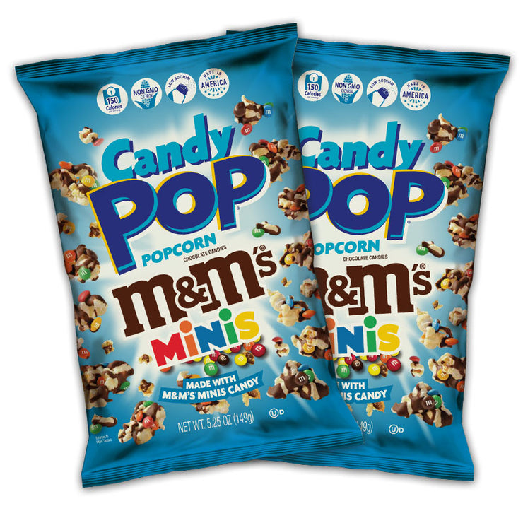 M&M's Candy Pop 5.25 oz Combo Pack